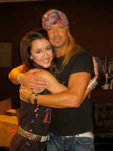 After performing with Bret Michaels on Lopez Tonight