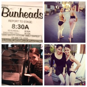 On set of Bunheads for ABC Family